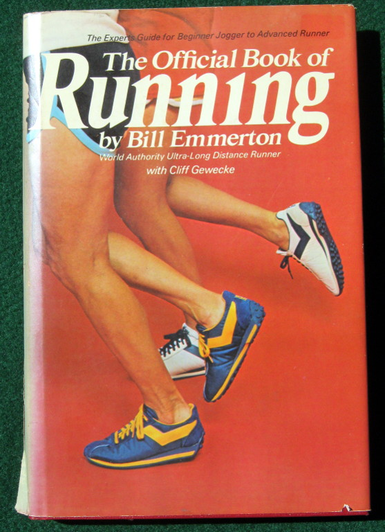 Image for THE OFFICIAL BOOK OF RUNNING