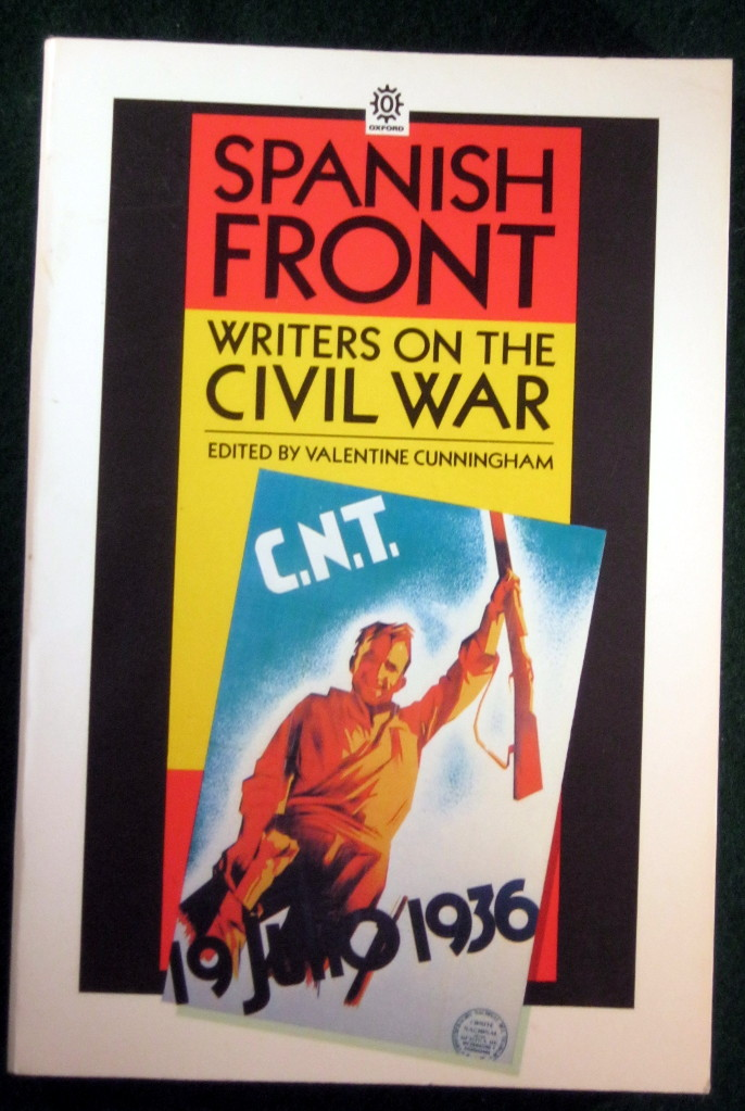 Image for SPANISH FRONT: WRITERS ON THE CIVIL WAR