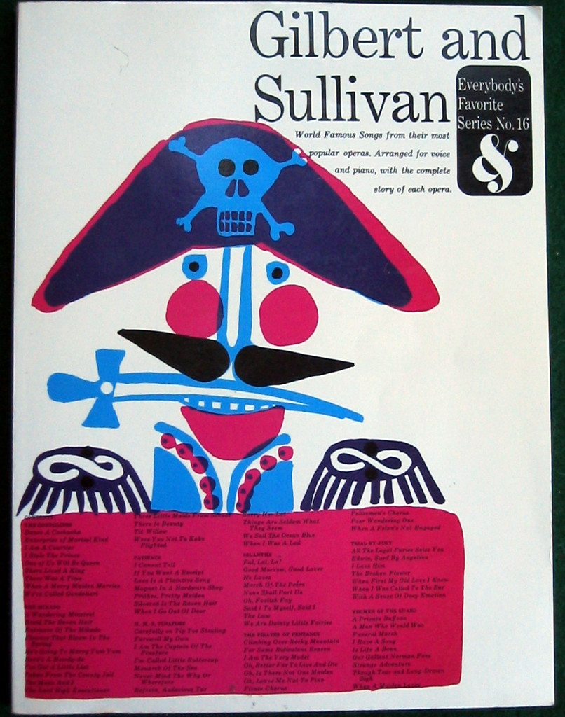 Image for GILBERT & SULLIVAN: (EVERYBODY'S FAVORITE SERIES NO. 16)