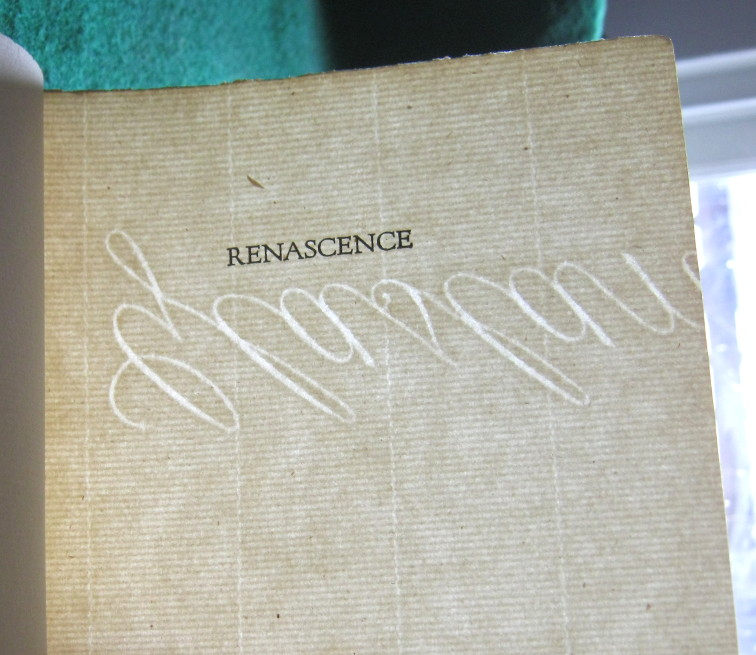 Image for RENASCENCE AND OTHER POEMS