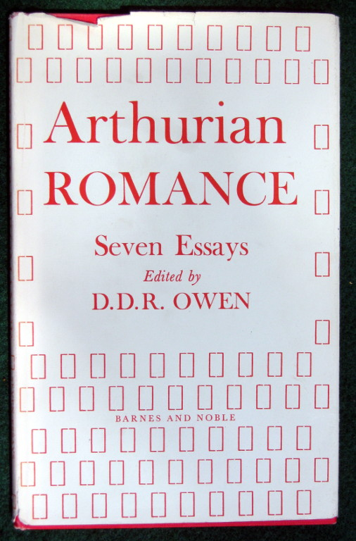 Image for ARTHURIAN ROMANCE: SEVEN ESSAYS