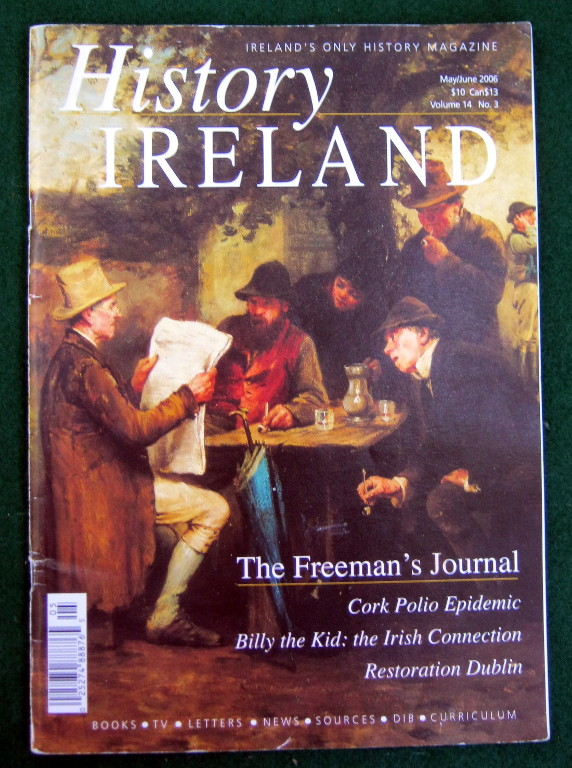 Image for HISTORY IRELAND VOLUME 14 NO. 3 (MAY/JUNE 2006)