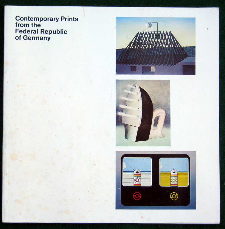 Image for CONTEMPORARY PRINTS FROM THE FEDERAL REPUBLIC OF GERMANY