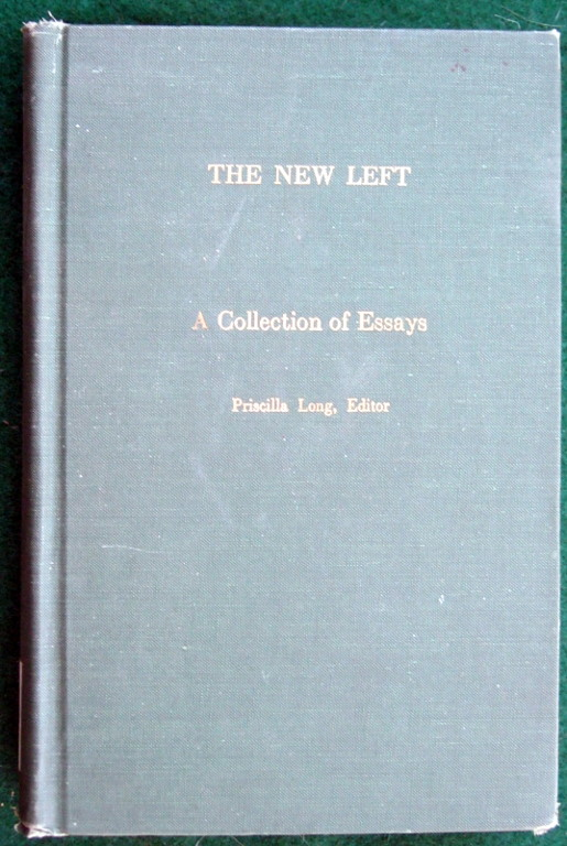 Image for NEW LEFT A COLLECTION OF ESSAYS (EXTENDING HORIZONS BOOKS)