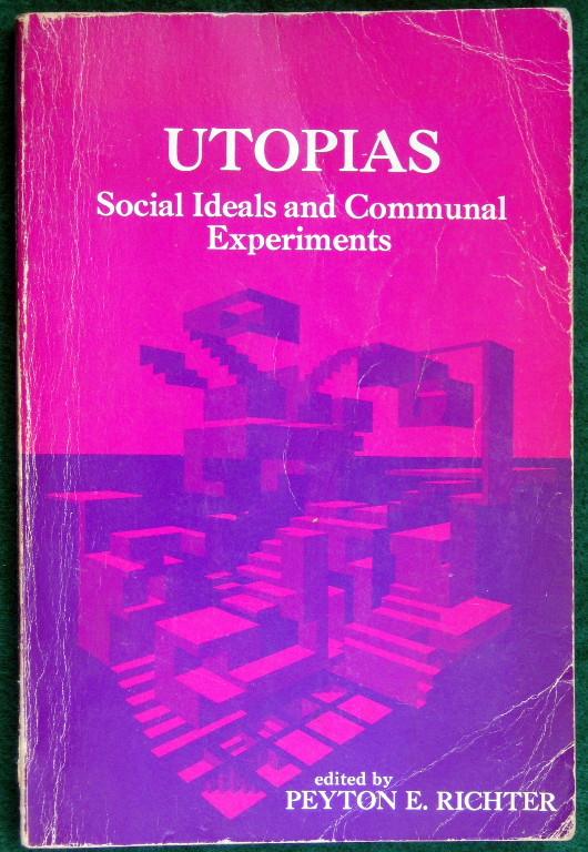 Image for UTOPIAS: SOCIAL AND COMMUNAL EXPERIMENTS