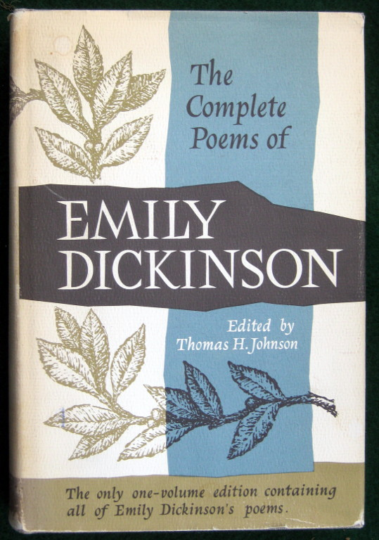 Image for THE COMPLETE POEMS OF EMILY DICKINSON