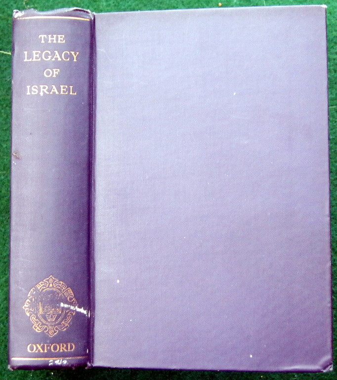 Image for THE LEGACY OF ISRAEL