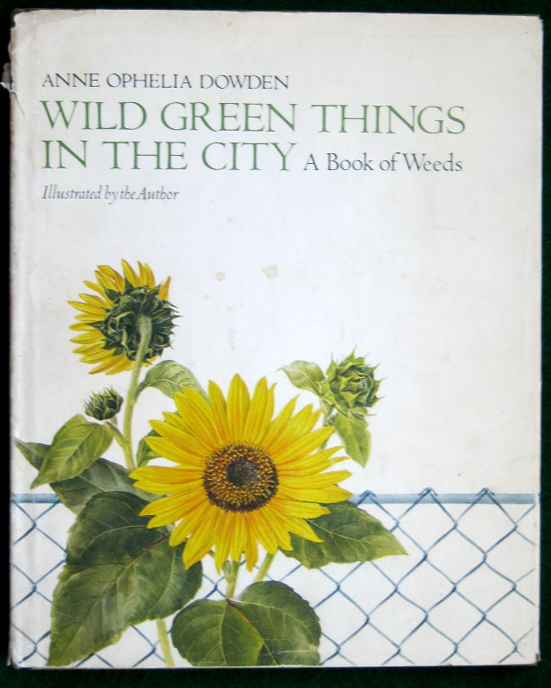 Image for WILD GREEN THINGS IN THE CITY; A BOOK OF WEEDS.