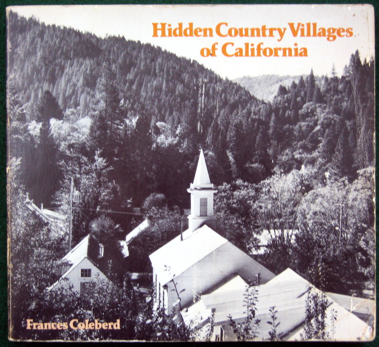 Image for HIDDEN COUNTRY VILLAGES OF CALIFORNIA