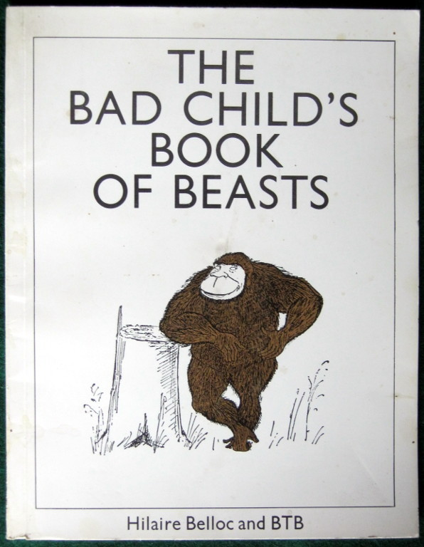 Image for BAD CHILD'S BOOK OF BEASTS