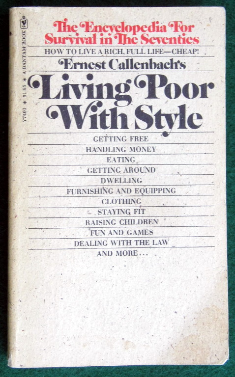 Image for LIVING POOR WITH STYLE