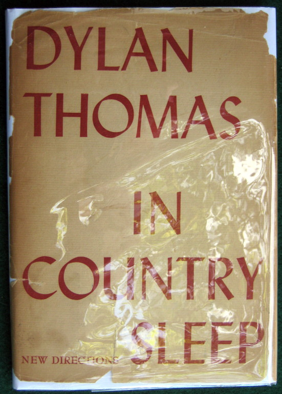 Image for IN COUNTRY SLEEP AND OTHER POEMS
