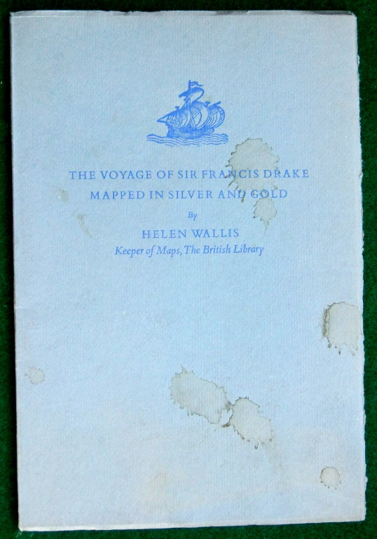 Image for THE VOYAGE OF SIR FRANCIS DRAKE MAPPED IN SILVER AND GOLD