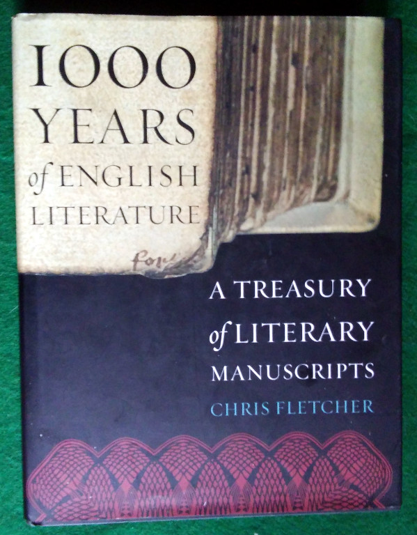 Image for 1,000 YEARS OF ENGLISH LITERATURE: A TREASURY OF LITERARY MANUSCRIPTS