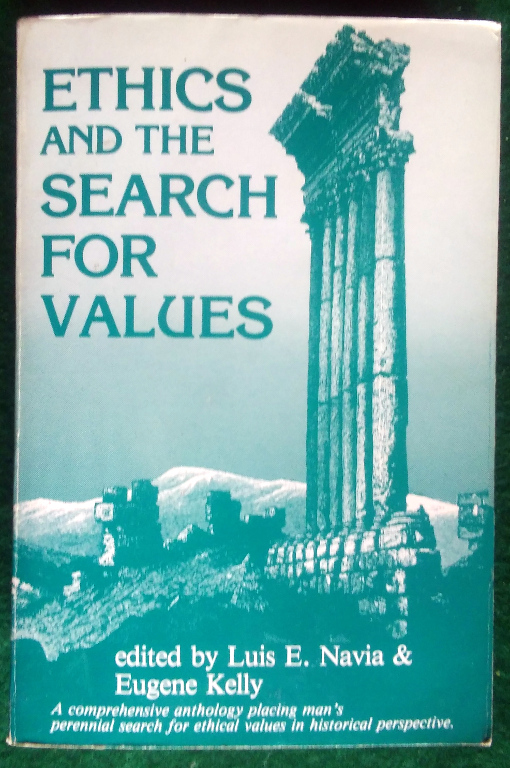 Image for ETHICS AND THE SEARCH FOR VALUES