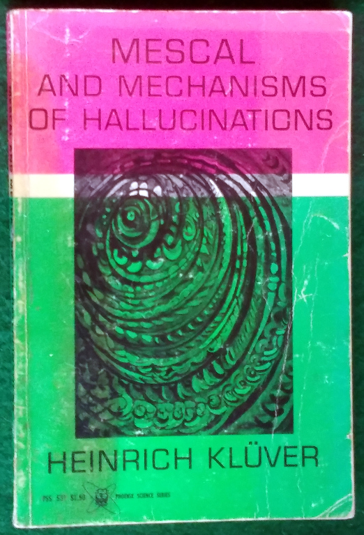 Image for MESCAL AND MECHANISMS OF HALLUCINATIONS