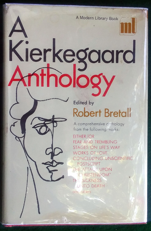 Image for A KIERKEGAARD ANTHOLOGY