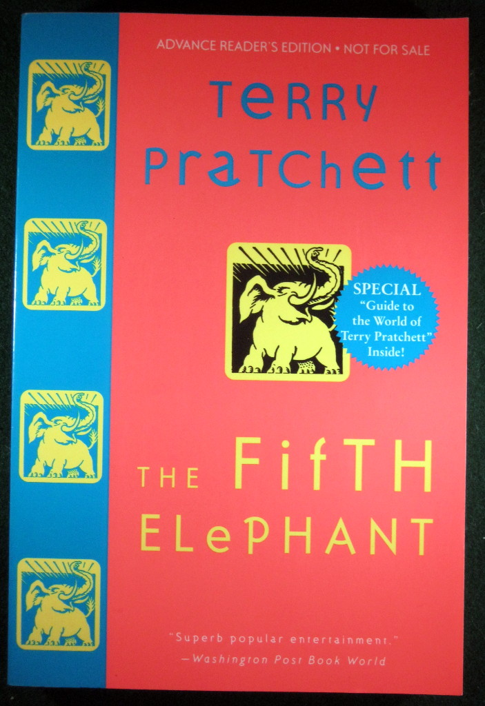 Image for THE FIFTH ELEPHANT: A NOVEL OF DISCWORLD